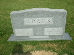 Eva V <i>Puryear</i> Adams