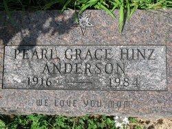 Pearl Grace <i>Hinz</i> Anderson