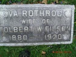 Eva <i>Rothrock</i> Filson