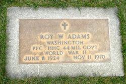 Roy W Adams