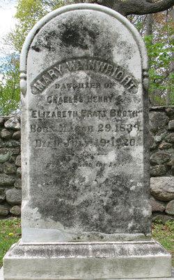 Mary Wainwright Booth