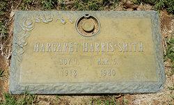 Margaret Frances <i>Harris</i> Smith
