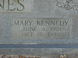 Mary <i>Kennedy</i> Barnes