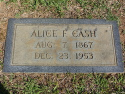 Alice Florence Cash