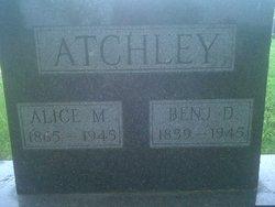 Alice M <i>Whittenberg</i> Atchley