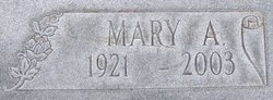 Mary A Butler