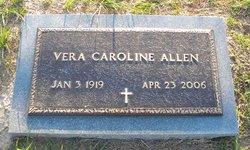 Vera Caroline <i>Willoughby</i> Allen