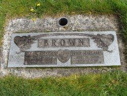 Elma Margaret <i>Davis</i> Brown