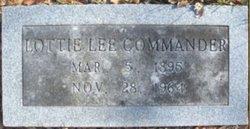 Lottie Lee <i>Gann</i> Commander