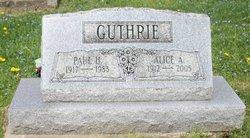 Paul Harry Guthrie