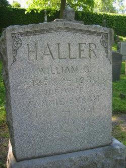 Fannie <i>Bryan</i> Haller