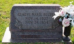 Gladys Marie Buzbee