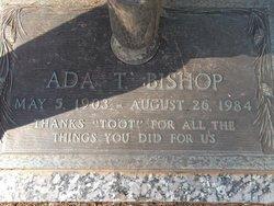 Ada M Toot <i>Holcombe</i> Bishop