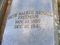 Hattie <i>Walker</i> Arnall Freeman