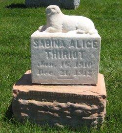 Sabina Alice Thiriot