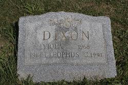 Cleophus C Dixon
