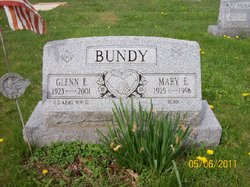 Mary E. <i>Burd</i> Bundy