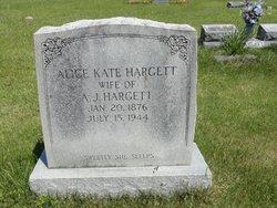 Alice Kate Katie <i>Wroten</i> Hargett