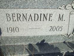 Bernadine Margaret <i>Benner</i> Ahler