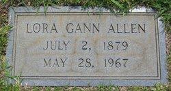 Lora <i>Gann</i> Allen