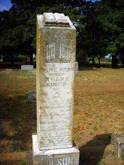 Martha E Mattie <i>Simms</i> Wilson