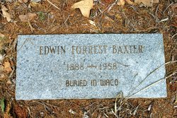 Edwin Forrest Sam Baxter
