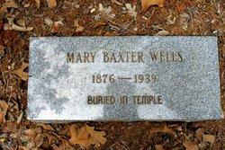 Mary Elizabeth <i>Baxter</i> Wells