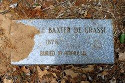 Moselle <i>Baxter</i> De Grassi