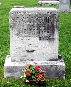Alice Cecilia <i>Kilmer</i> Calhoun