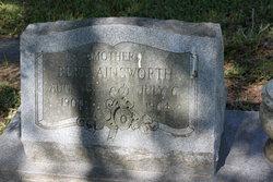Bertha Bert <i>Haught</i> Ainsworth