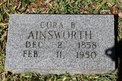 Cora Bell <i>Sanders</i> Ainsworth