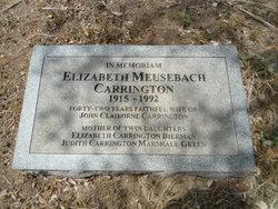 Elizabeth <i>Meusebach</i> Carrington