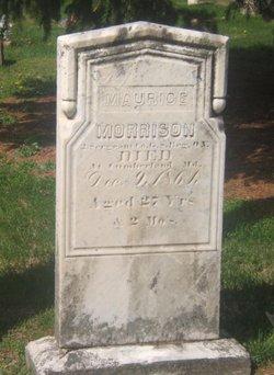Maurice Morris Morrison