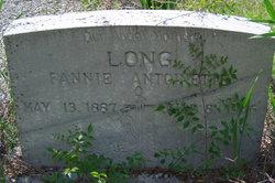 Fannie Antoinette <i>Bondurant</i> Long