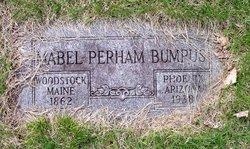 Mabel <i>Perham</i> Bumpus