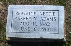 Beatrice Nettie <i>Rasberry</i> Adams
