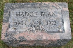 Margaret Madge Bean