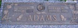 Emma W Mae <i>George</i> Adams