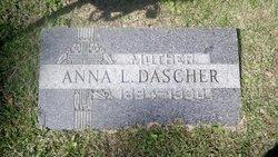 Anna L. Annie <i>Buchli</i> Dascher