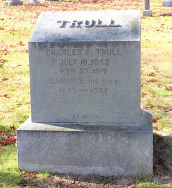 Sarah E <i>Cushing</i> Trull