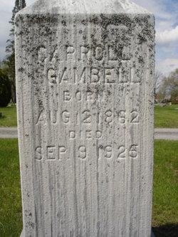 Carroll Gambell