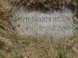 Effie <i>Swaner</i> Higson