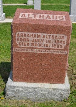 Abraham Althaus