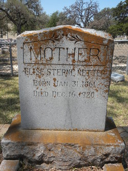 Mrs Elise S. <i>Sterne</i> Netter