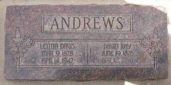 Letitia Ann <i>Davis</i> Andrews