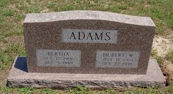 Bertha <i>Billings</i> Adams