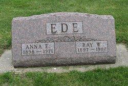 Anna E <i>Westervelt</i> Ede