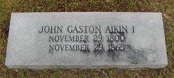 John Gaston Aikin, I