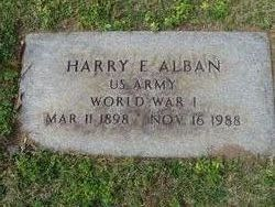 Dr Harry E Alban, Sr