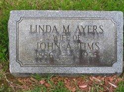 Linda M <i>Ayers</i> Tims